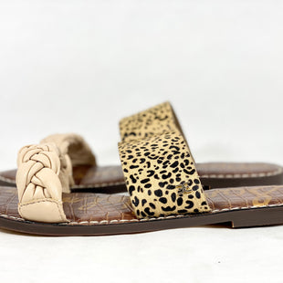 Primary Photo - BRAND: SAM EDELMAN STYLE: SANDALS FLAT COLOR: LEOPARD PRINT SIZE: 9.5 SKU: 213-21394-42064