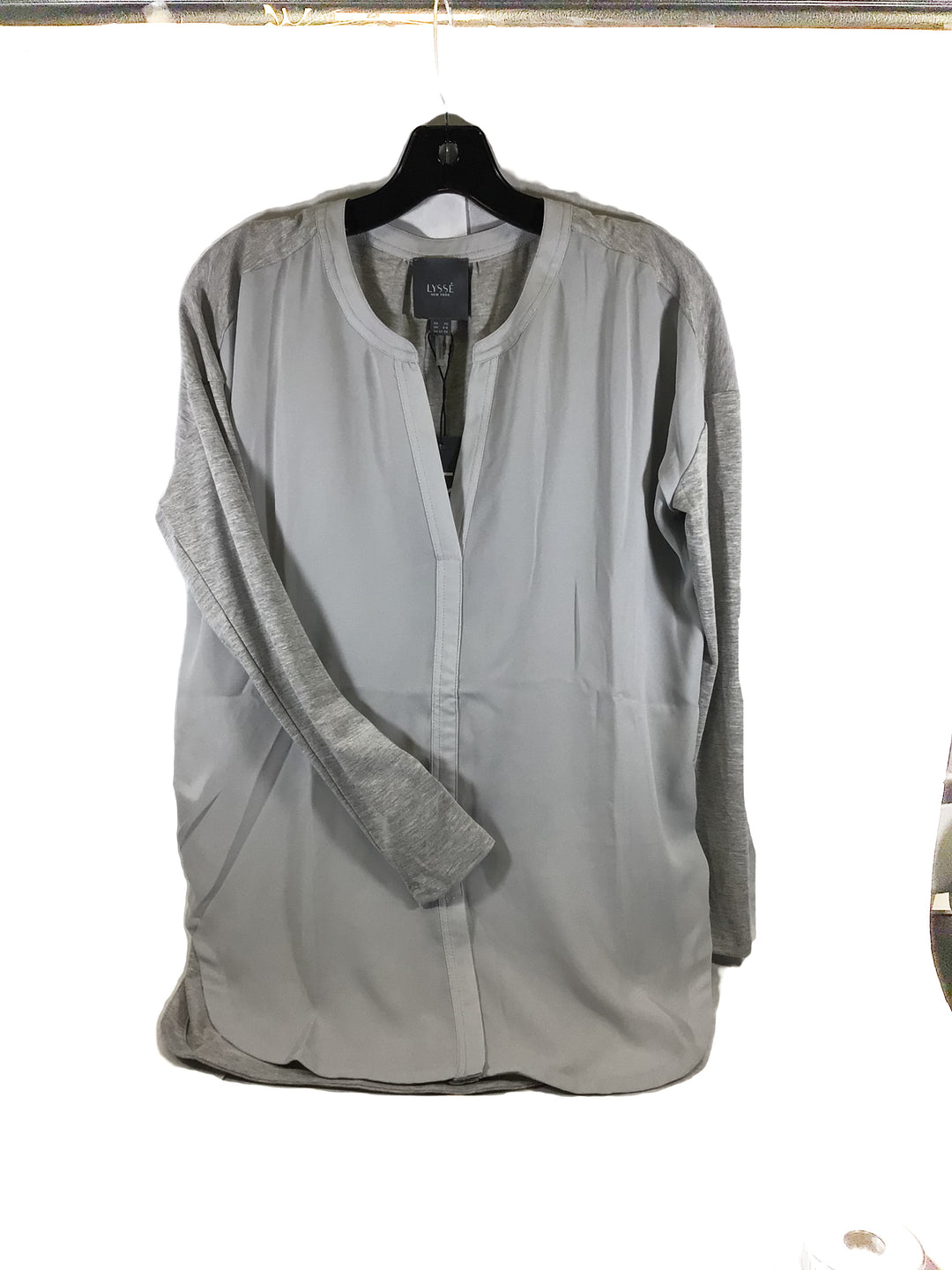 Primary Photo - BRAND: LYSSE <BR>STYLE: TOP LONG SLEEVE <BR>OTHER INFO: NEW! <BR>SKU: 213-21394-42827<BR>LIGHT GREY