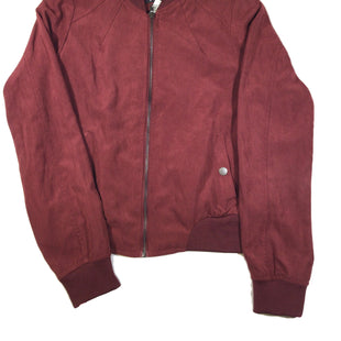Primary Photo - BRAND: IRIS STYLE: JACKET OUTDOOR COLOR: MAROON SIZE: S SKU: 213-213143-7677