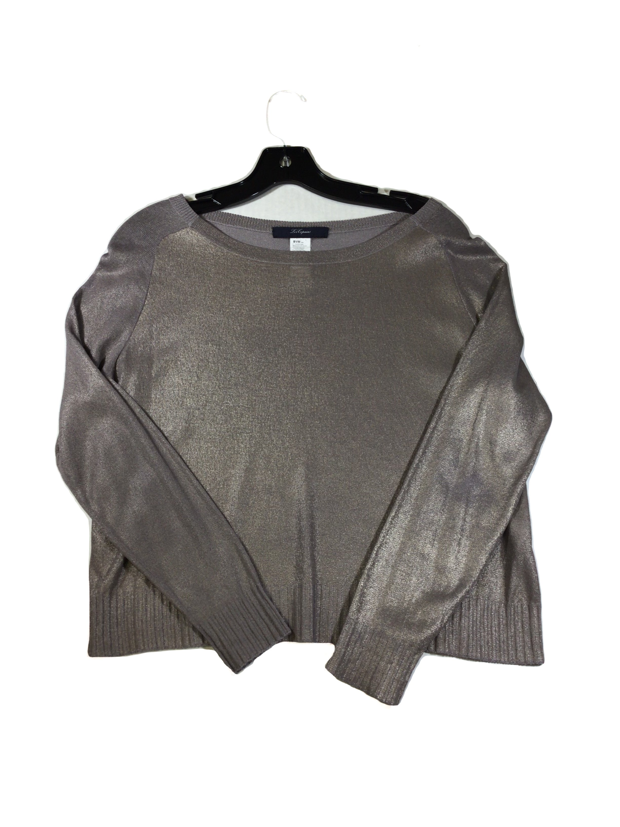 Primary Photo - BRAND:  CMA <BR>STYLE: SWEATER LIGHTWEIGHT <BR>COLOR: METALLIC <BR>SIZE: S <BR>OTHER INFO: LES COPAINS - <BR>SKU: 213-21394-35602