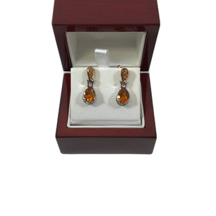 Primary Photo - BRAND:   CMC STYLE: EARRINGS COLOR: ORANGE OTHER INFO: CITRINE STERLING EARRINGS - SKU: 213-213143-9886