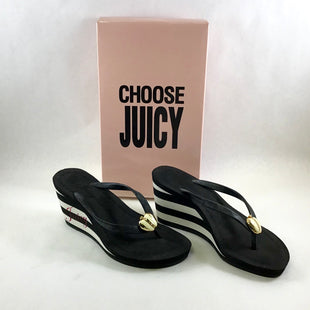 Primary Photo - BRAND: JUICY COUTURE STYLE: SANDALS HIGH COLOR: STRIPED SIZE: 6 SKU: 213-213118-31310
