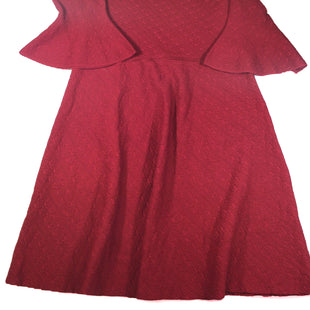 Primary Photo - BRAND: ROZ AND ALI STYLE: DRESS SHORT LONG SLEEVE COLOR: RED SIZE: 1X SKU: 213-21394-41675