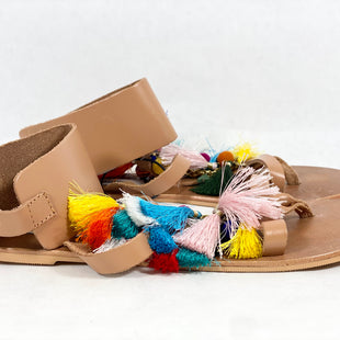 Primary Photo - BRAND: STEVE MADDEN STYLE: SANDALS FLAT COLOR: MULTI SIZE: 8.5 SKU: 213-213143-4410
