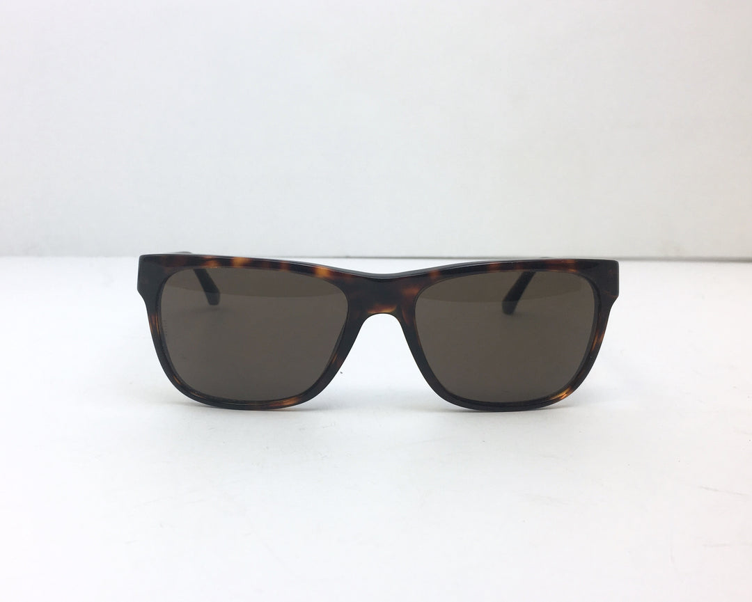 Primary Photo - BRAND: EMPORIO ARMANI<BR>STYLE: SUNGLASSES<BR>COLOR: BROWN<BR>SKU: 213-213118-27029<BR><BR>EMPORIO ARMANI TORTOISESHELL SUNGLASSES WITH CASE. MEASUREMENTS 55,18,140. MADE IN CHINA.