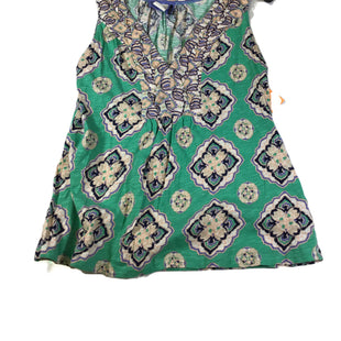 Primary Photo - BRAND: ANTHROPOLOGIE STYLE: TOP SLEEVELESS COLOR: GREEN SIZE: L SKU: 213-213118-33314