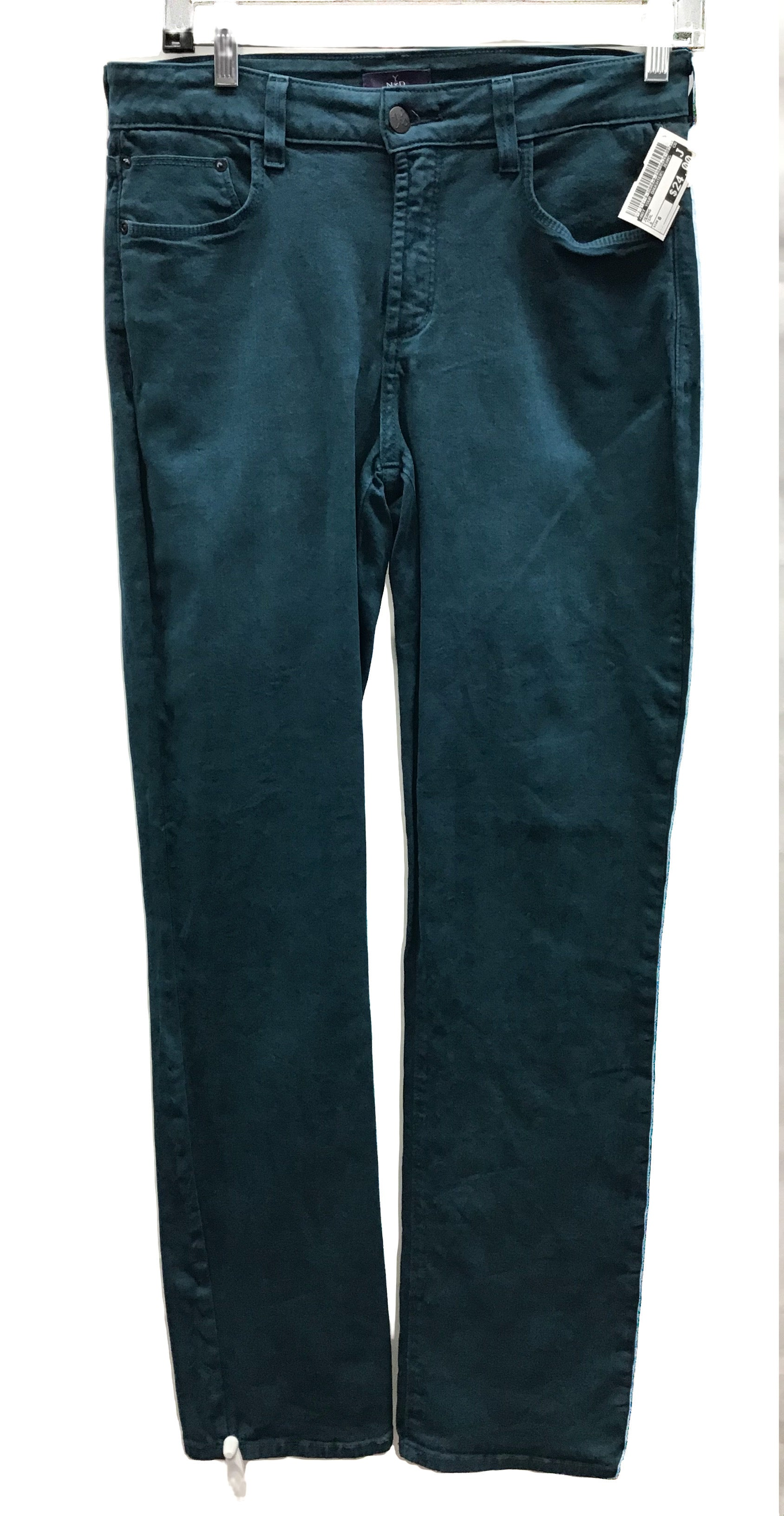 Primary Photo - BRAND: NOT YOUR DAUGHTERS JEANS <BR>STYLE: JEANS <BR>COLOR: TEAL <BR>SIZE: 6 <BR>SKU: 213-213118-30858