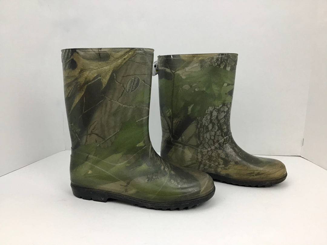 Primary Photo - BRAND:    CLOTHES MENTOR <BR>STYLE: BOOTS RAIN <BR>COLOR: CAMOFLAUGE <BR>SIZE: 6 <BR>OTHER INFO: REAL TREE HARDWOODS - <BR>SKU: 213-213143-2409