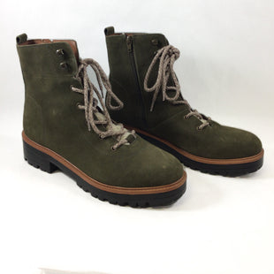Primary Photo - BRAND: MARC FISHER STYLE: BOOTS ANKLE COLOR: OLIVE SIZE: 10 SKU: 213-213143-10185