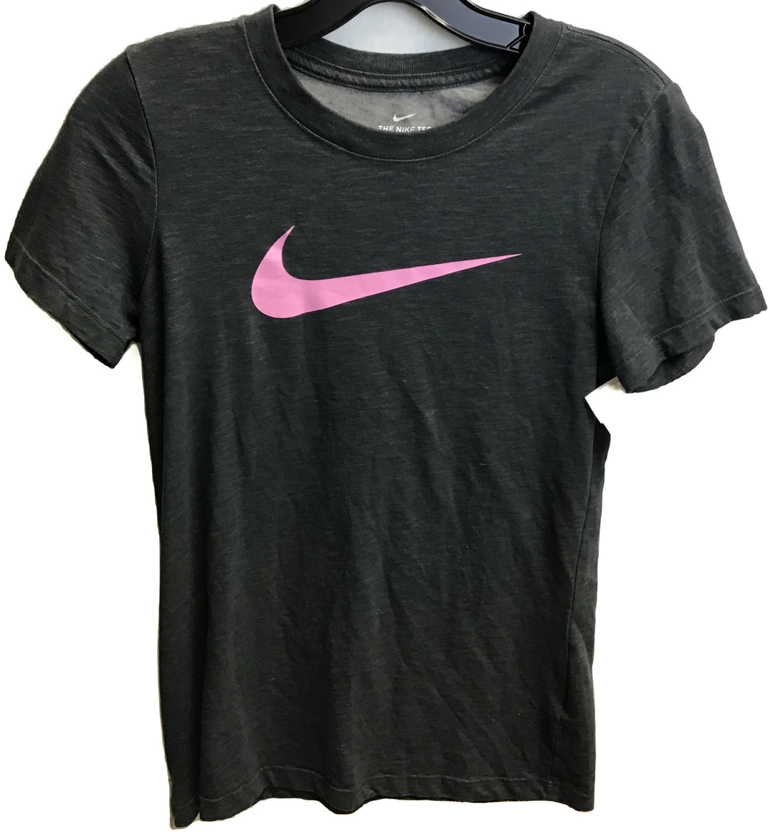 Primary Photo - BRAND: NIKE <BR>STYLE: ATHLETIC TOP SHORT SLEEVE <BR>COLOR: GREY <BR>SIZE: XS <BR>SKU: 213-213143-4781