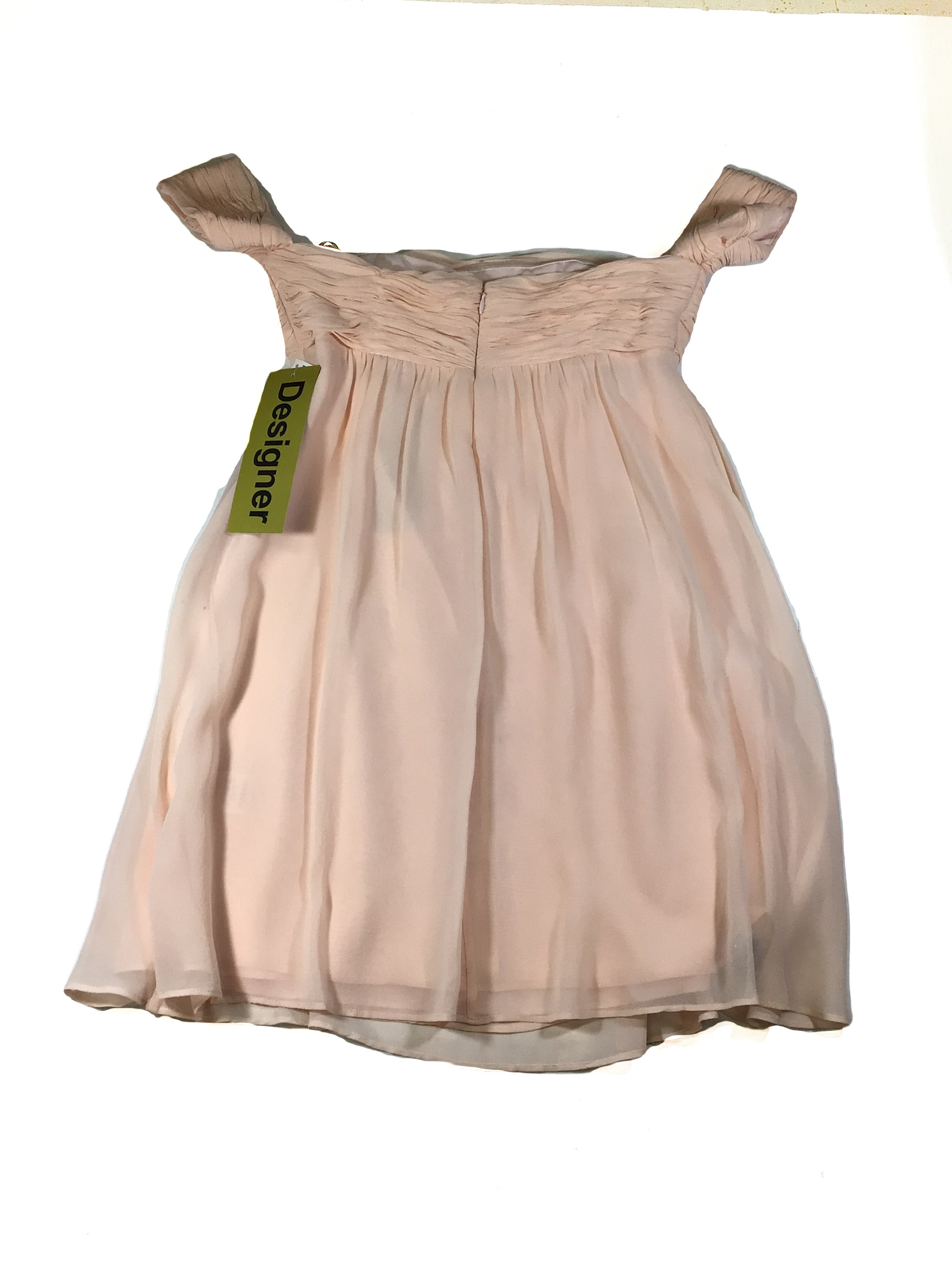 Photo #1 - BRAND: RACHEL ZOE <BR>STYLE: DRESS SHORT SLEEVELESS <BR>COLOR: DUSTY PINK <BR>SIZE: 4 <BR>SKU: 213-213143-4920