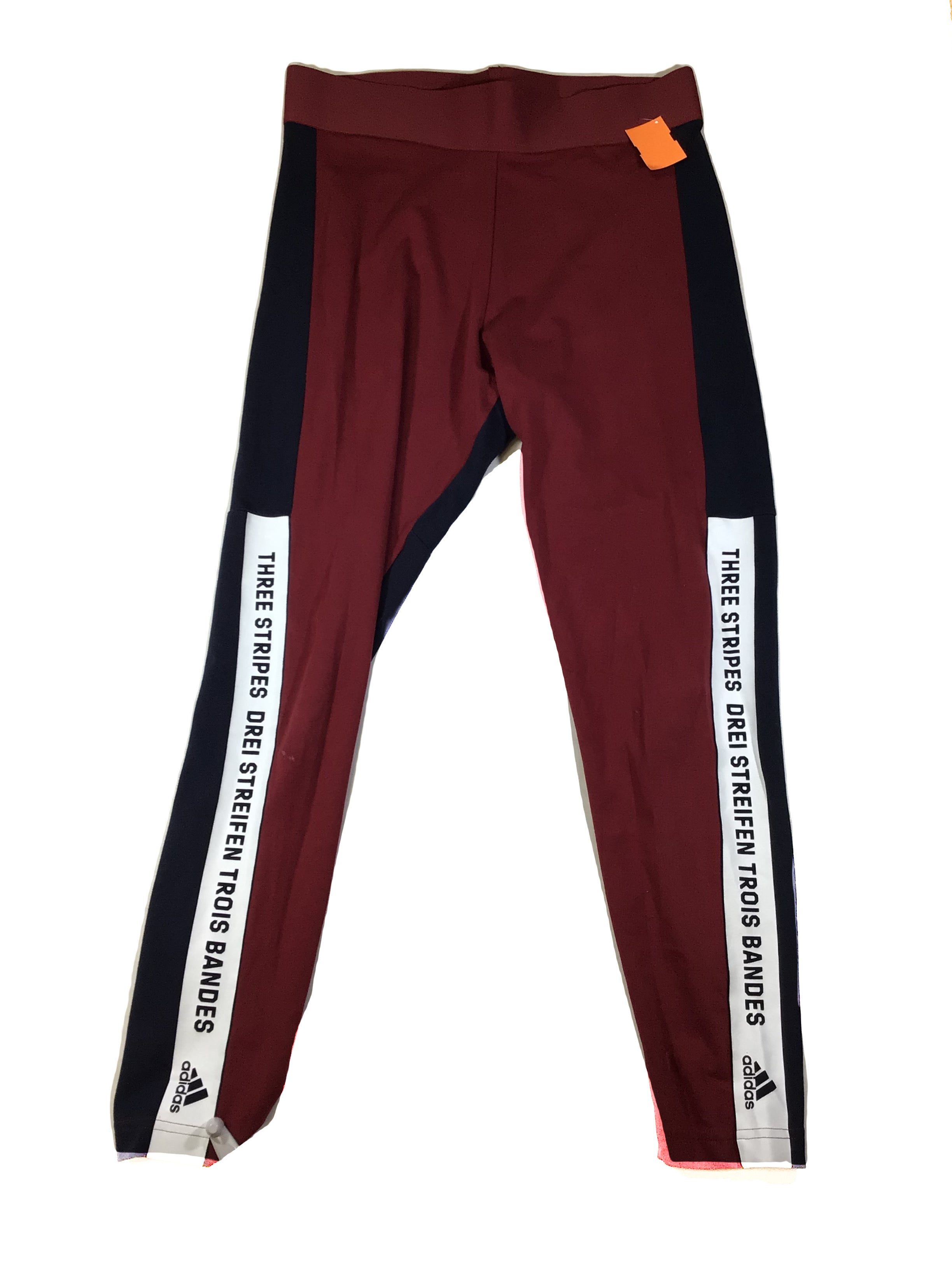 Primary Photo - BRAND: ADIDAS <BR>STYLE: ATHLETIC PANTS <BR>COLOR: RUST <BR>SIZE: L <BR>SKU: 213-21394-44182