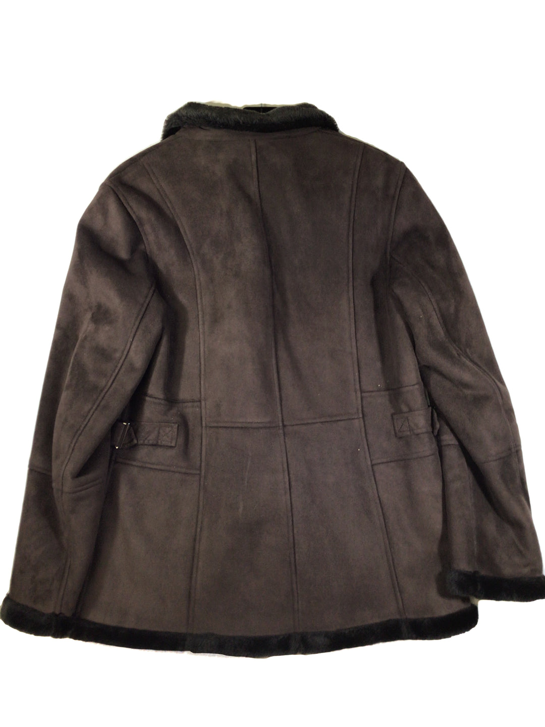 Photo #1 - BRAND: GALLERY <BR>STYLE: JACKET OUTDOOR <BR>COLOR: BROWN <BR>SIZE: M <BR>SKU: 213-213149-1571