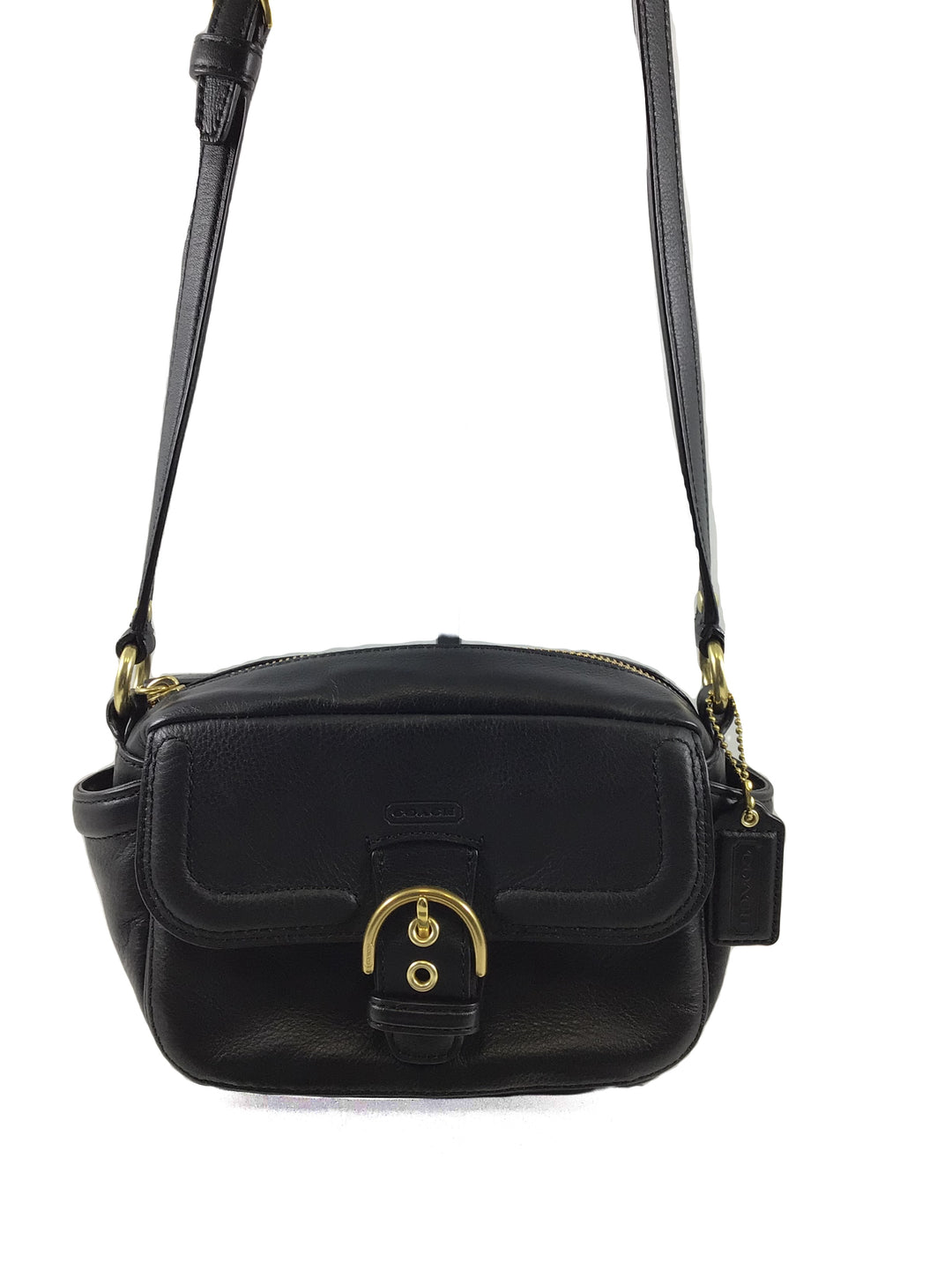 Primary Photo - BRAND: COACH <BR>STYLE: HANDBAG DESIGNER <BR>COLOR: BLACK <BR>SIZE: SMALL <BR>SKU: 213-213106-23691