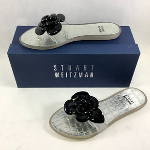 Primary Photo - BRAND: STUART WEITZMAN STYLE: SANDALS FLAT COLOR: CLEAR SIZE: 6 SKU: 213-213118-31309