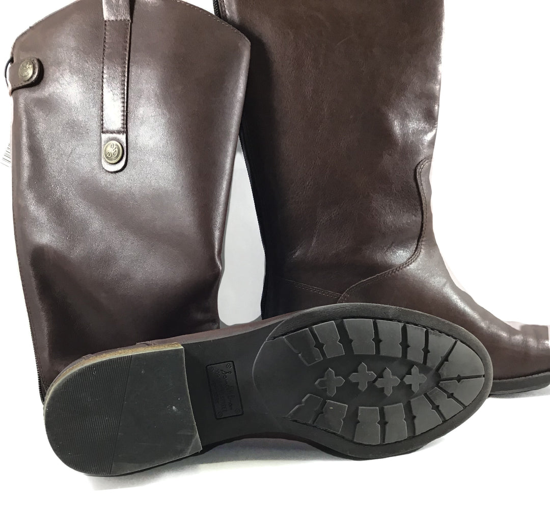 Photo #1 - BRAND: SAM EDELMAN <BR>STYLE: BOOTS KNEE <BR>COLOR: BROWN <BR>SIZE: 7 <BR>SKU: 213-213143-6684