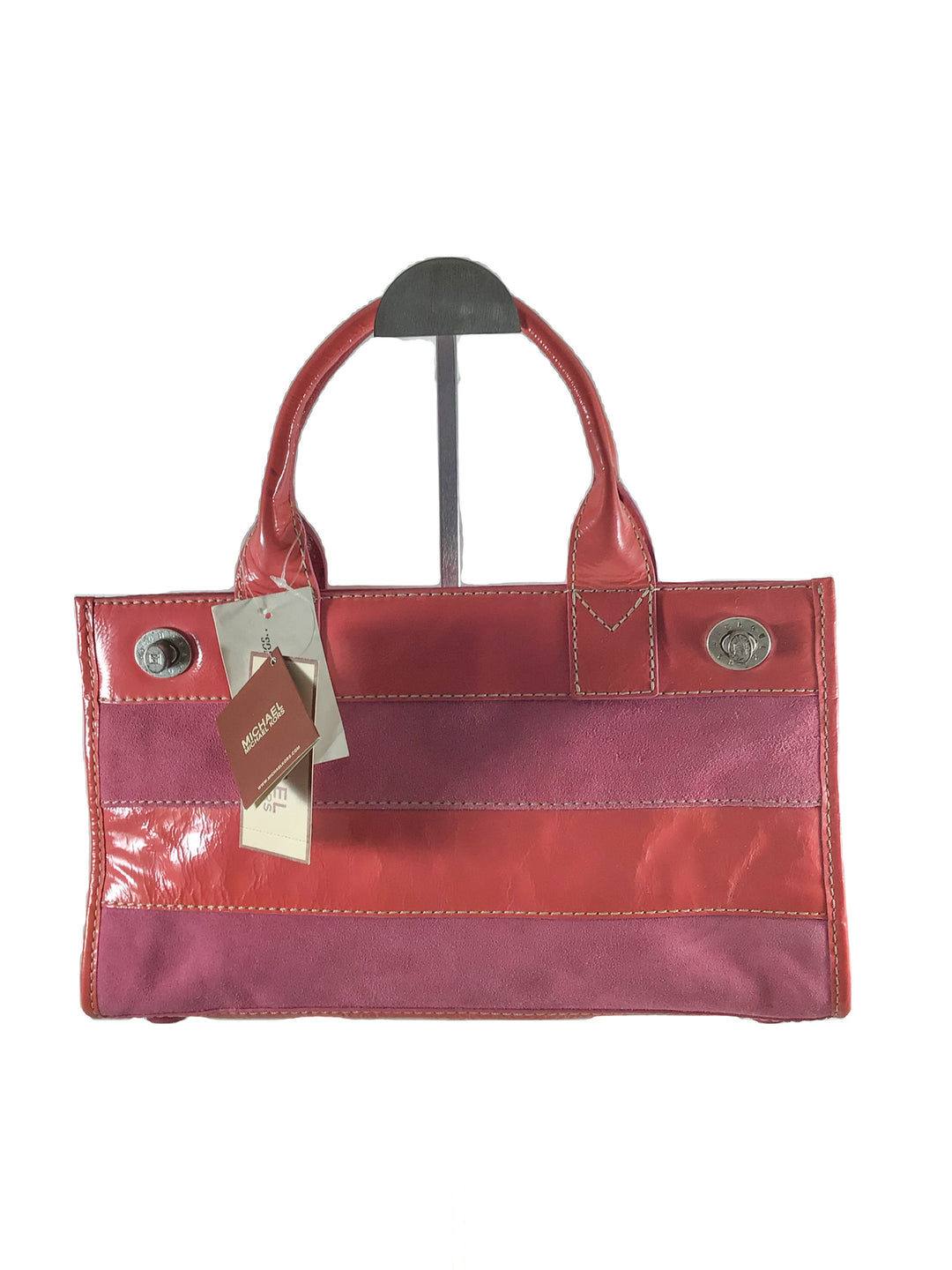 Primary Photo - BRAND: MICHAEL BY MICHAEL KORS <BR>STYLE: HANDBAG <BR>COLOR: PINK <BR>SIZE: MEDIUM <BR>SKU: 213-213118-32122