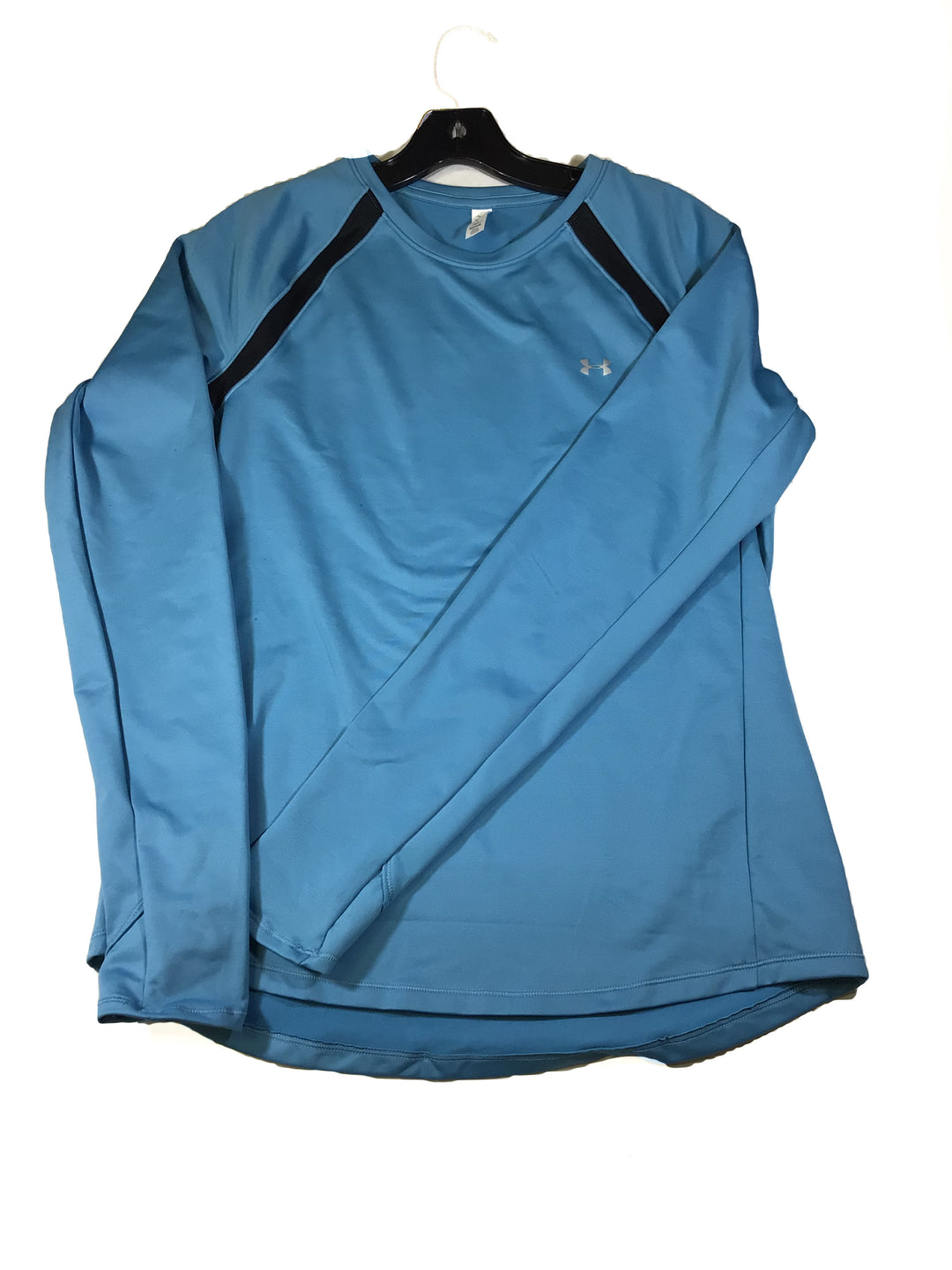 Primary Photo - BRAND: UNDER ARMOUR <BR>STYLE: ATHLETIC TOP <BR>COLOR: BLUE <BR>SIZE: L <BR>OTHER INFO: NEW! <BR>SKU: 213-21394-41607