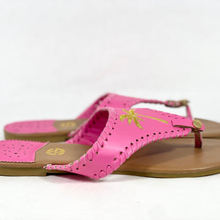 Primary Photo - BRAND: SIMPLY SOUTHERN STYLE: SANDALS FLAT COLOR: PINK SIZE: 9 SKU: 213-213118-33273