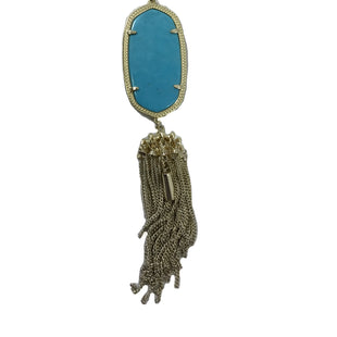 Primary Photo - BRAND: KENDRA SCOTT JEWLERY STYLE: NECKLACE COLOR: TURQUOISE SKU: 213-213118-33388