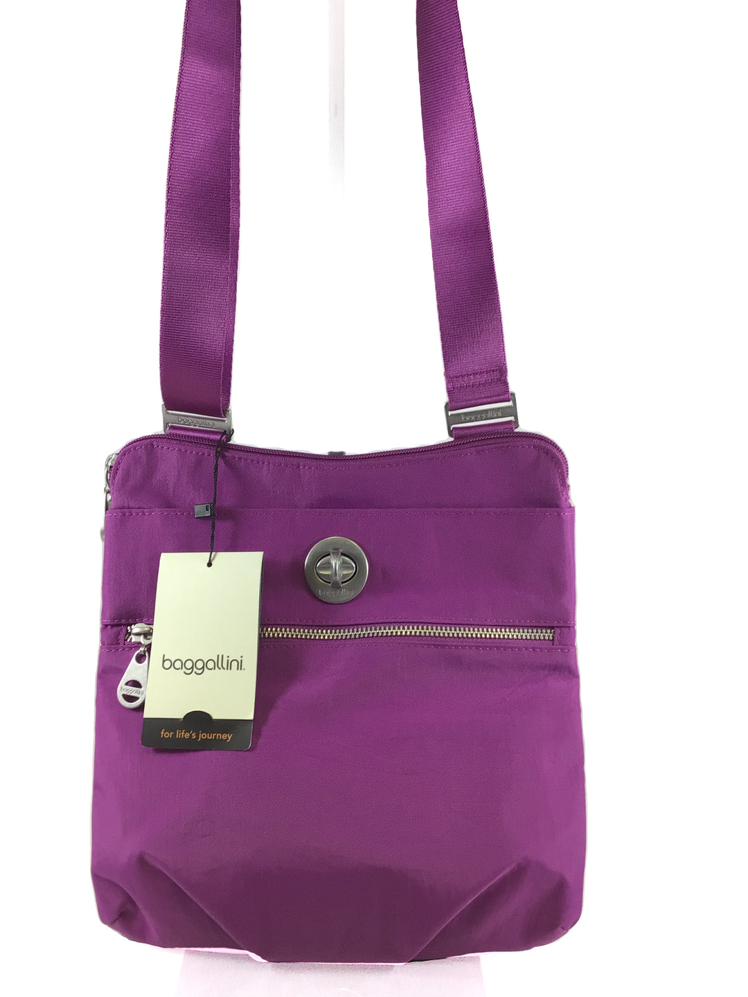 Primary Photo - BRAND: BAGGALLINI <BR>STYLE: HANDBAG <BR>COLOR: PURPLE <BR>SIZE: MEDIUM <BR>OTHER INFO: NEW! <BR>SKU: 213-21394-39744