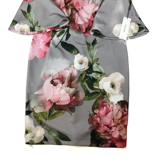 Primary Photo - BRAND: CALVIN KLEIN STYLE: DRESS SHORT LONG SLEEVE COLOR: FLORAL SIZE: 10 SKU: 213-213106-27683