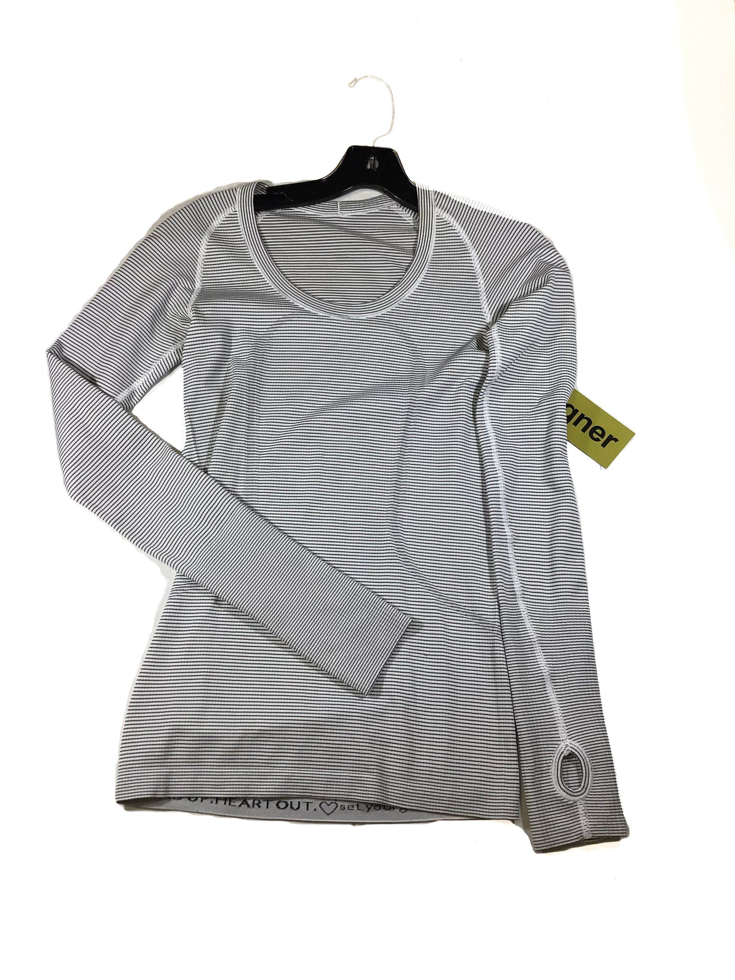 Primary Photo - BRAND: LULULEMON <BR>STYLE: ATHLETIC TOP <BR>COLOR: STRIPED <BR>SIZE: M <BR>SKU: 213-213118-32828
