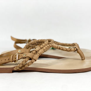 Primary Photo - BRAND: DOLCE VITA STYLE: SANDALS FLAT COLOR: TAN SIZE: 9.5 SKU: 213-213135-6913