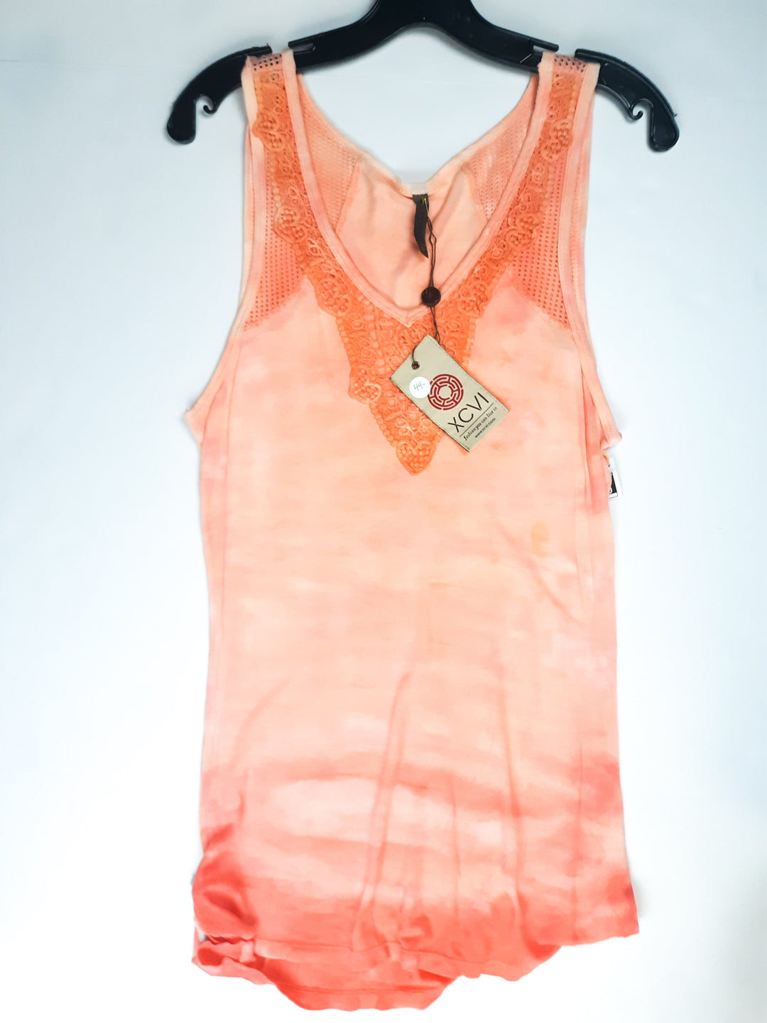 Primary Photo - BRAND: XCVI <BR>STYLE: TOP SLEEVELESS <BR>COLOR: ORANGE <BR>SIZE: S <BR>SKU: 213-213106-24603