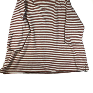 Primary Photo - BRAND: J JILL STYLE: TOP LONG SLEEVE COLOR: STRIPED SIZE: 2X SKU: 213-213135-6398