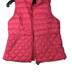 Primary Photo - BRAND: TALBOTS STYLE: VEST DOWN COLOR: PINK SIZE: PETITE  MEDIUM SKU: 213-21394-34596