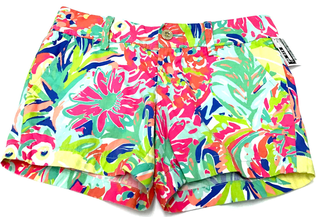 Primary Photo - BRAND: LILLY PULITZER <BR>STYLE: SHORTS <BR>COLOR: MULTI <BR>SIZE: 0 <BR>SKU: 213-213149-259
