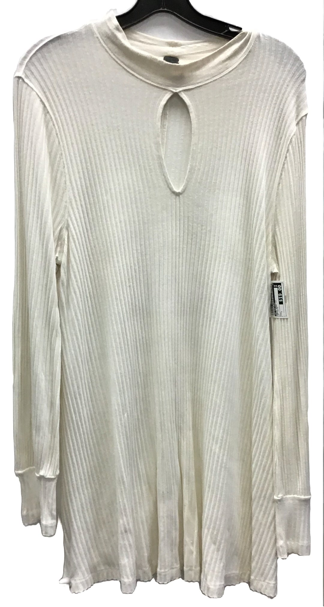 Primary Photo - BRAND: WE THE FREE <BR>STYLE: DRESS SHORT LONG SLEEVE <BR>COLOR: OFF WHITE <BR>SIZE: L <BR>SKU: 213-213118-30449