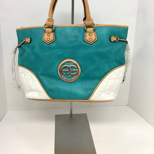 Primary Photo - BRAND:  CMB STYLE: HANDBAG COLOR: TURQUOISE SIZE: LARGE OTHER INFO: ANAIS GVANI - SKU: 213-213106-24677