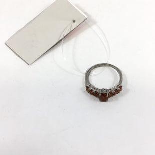 Primary Photo - BRAND:   CMC STYLE: RING COLOR: ORANGE OTHER INFO: CITRINE STERLING RING - SKU: 213-213143-9887