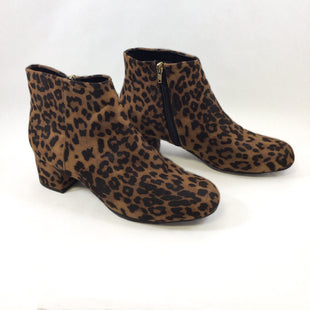 Primary Photo - BRAND:    CLOTHES MENTOR STYLE: BOOTS ANKLE COLOR: LEOPARD PRINT SIZE: 9 OTHER INFO: MANHATTAN - SKU: 213-213143-9634