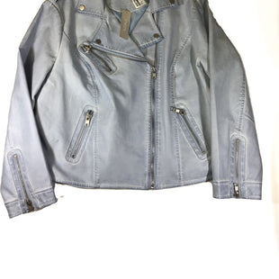 Primary Photo - BRAND: CHICOS STYLE: JACKET OUTDOOR COLOR: BLUE SIZE: 16 OTHER INFO: NEW! SKU: 213-21394-44643