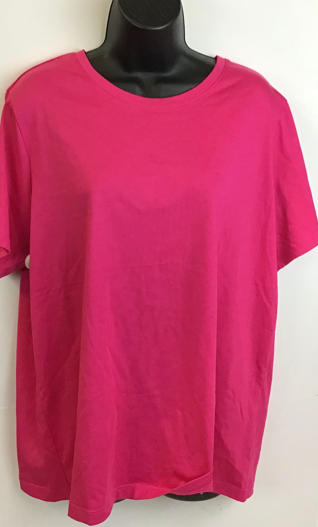 Primary Photo - BRAND: LANDS END <BR>STYLE: TOP SHORT SLEEVE <BR>COLOR: PINK <BR>SIZE: XL <BR>SKU: 213-213143-4138