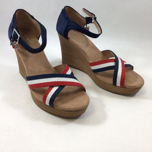 Primary Photo - BRAND: TOMS STYLE: SHOES HIGH HEEL COLOR: NAVY SIZE: 8 SKU: 213-213149-1054