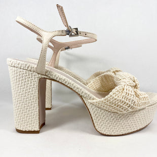 Primary Photo - BRAND:  CMB STYLE: SHOES DESIGNER COLOR: CREAM SIZE: 10 OTHER INFO: SCHUTZ - RETAIL $138, NEW! SKU: 213-21394-46805
