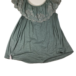 Primary Photo - BRAND: EYESHADOW STYLE: TOP SHORT SLEEVE COLOR: MINT SIZE: 3X SKU: 213-21394-42546