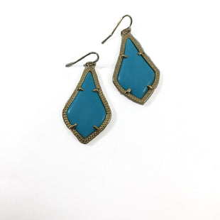 Primary Photo - BRAND: KENDRA SCOTT JEWLERY STYLE: EARRINGS COLOR: TURQUOISE SKU: 213-213118-33389