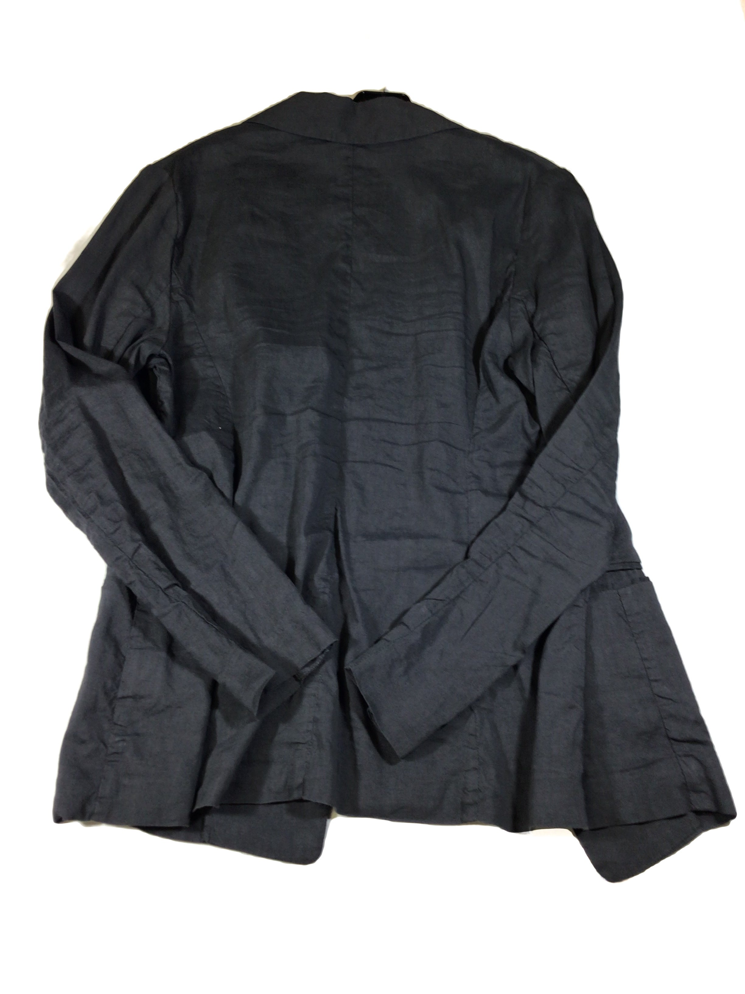 Photo #1 - BRAND: EILEEN FISHER <BR>STYLE: BLAZER JACKET <BR>COLOR: GREY <BR>SIZE: 12 <BR>SKU: 213-213143-1852