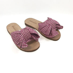 Primary Photo - BRAND: JEFFERY CAMPBELL STYLE: SHOES FLATS COLOR: GINGHAM SIZE: 6 SKU: 213-213118-33385