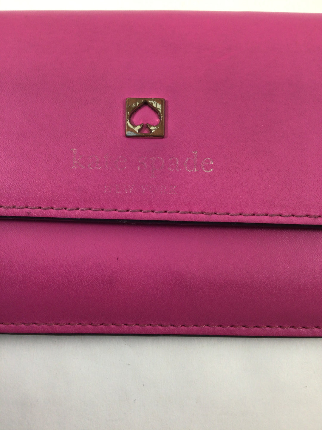 Photo #2 - BRAND: KATE SPADE <BR>STYLE: WALLET <BR>COLOR: HOT PINK <BR>SIZE: SMALL <BR>SKU: 213-213143-10389