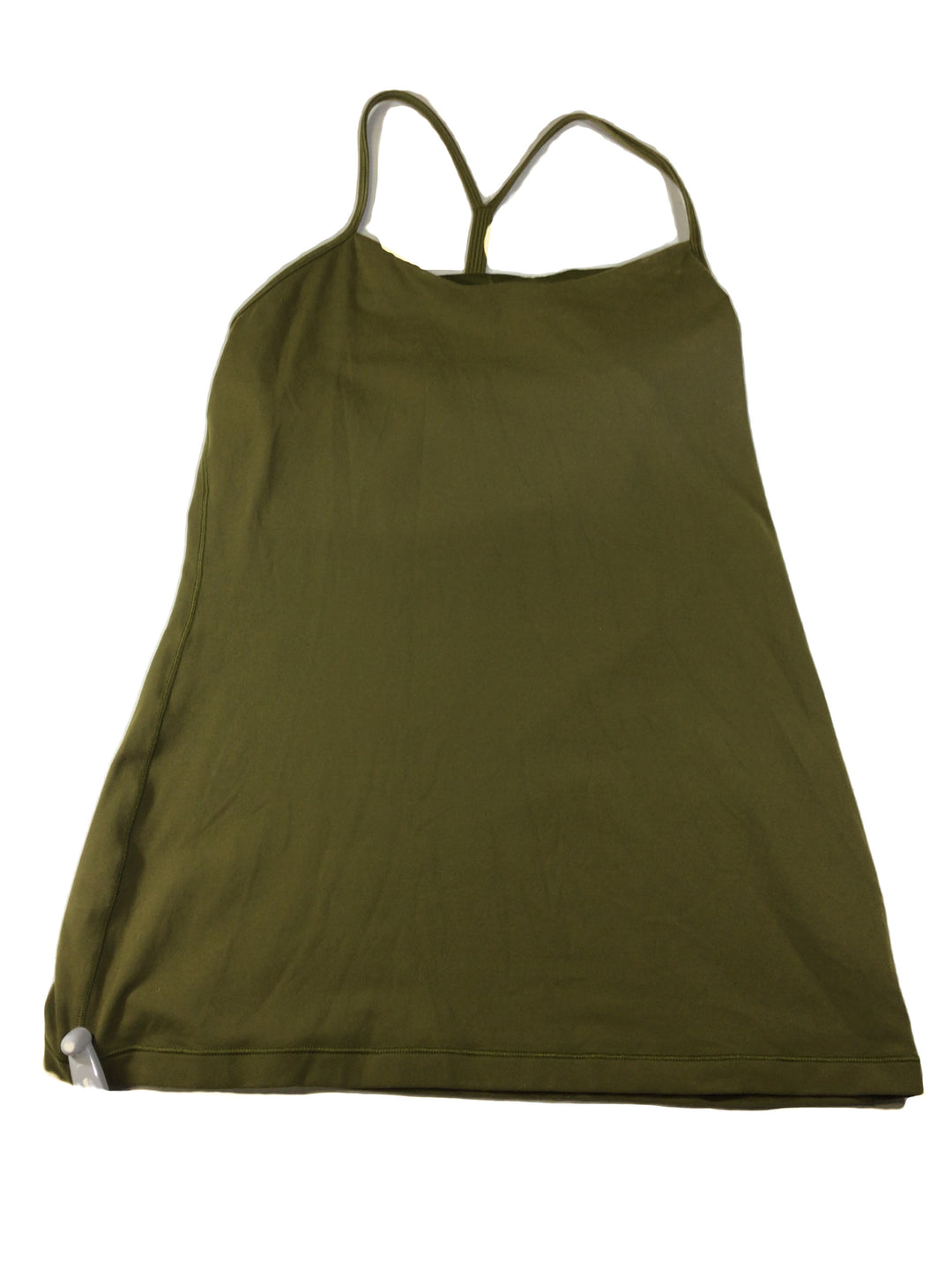 Primary Photo - BRAND: LULULEMON <BR>STYLE: ATHLETIC TANK TOP <BR>COLOR: OLIVE <BR>SIZE: M <BR>SKU: 213-213150-696