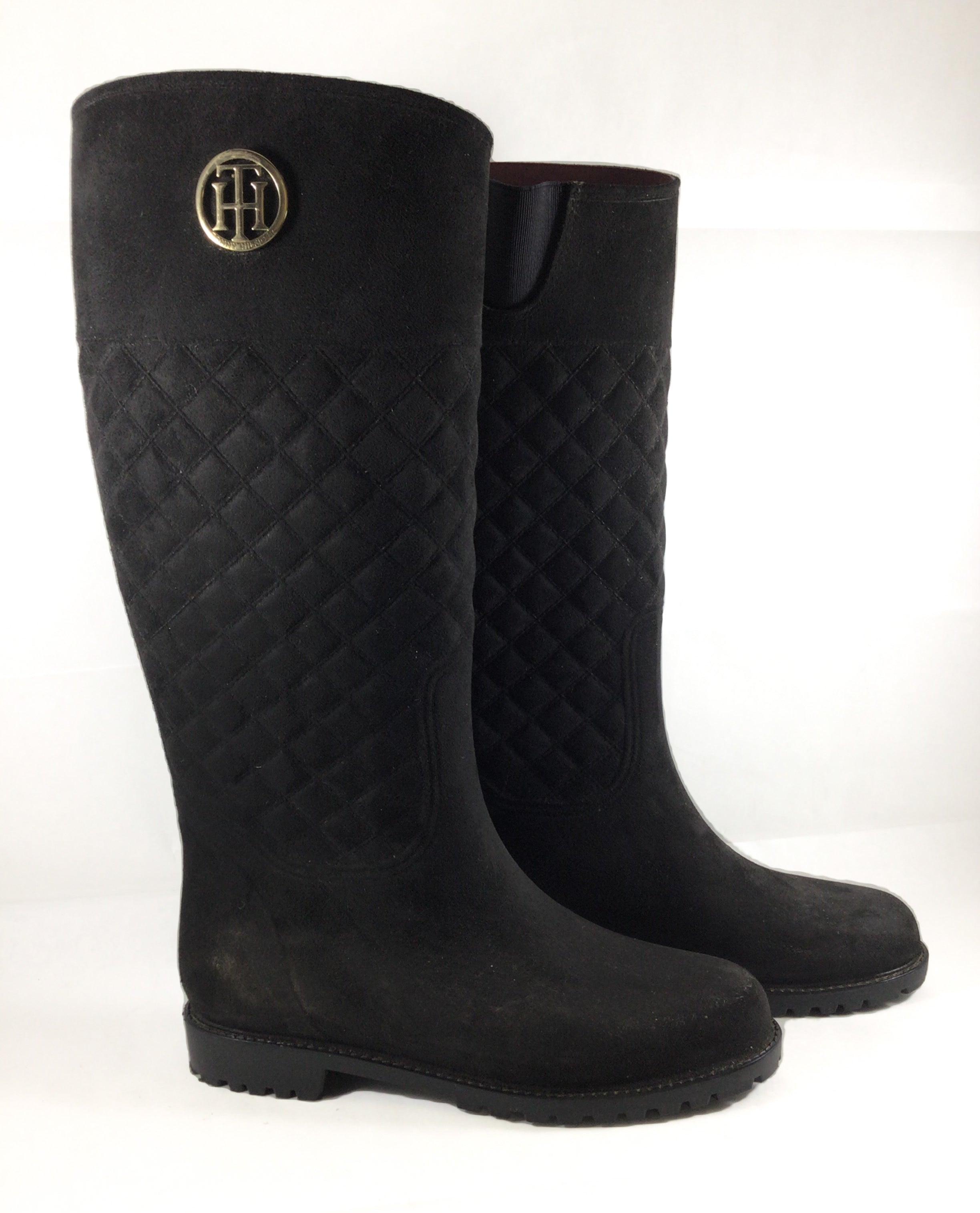 Primary Photo - BRAND: TOMMY BAHAMA <BR>STYLE: BOOTS KNEE <BR>COLOR: BLACK <BR>SIZE: 9 <BR>SKU: 213-213106-27382