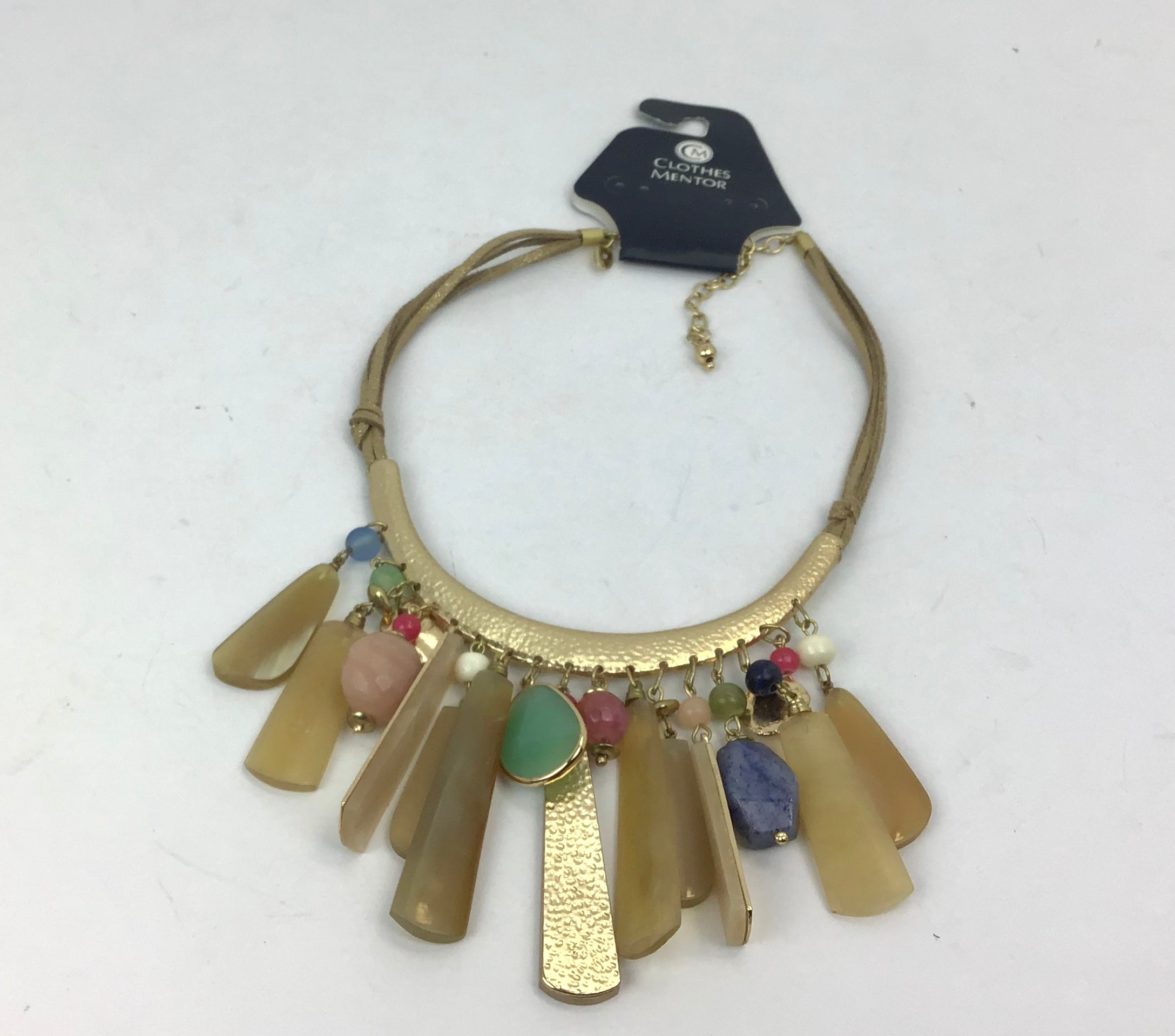 Photo #1 - BRAND: CHICOS <BR>STYLE: NECKLACE <BR>COLOR: GOLD <BR>SKU: 213-213143-1989