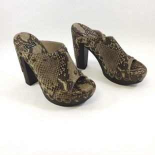 Primary Photo - BRAND: STUART WEITZMAN STYLE: SHOES HIGH HEEL COLOR: SNAKESKIN PRINT SIZE: 5.5 SKU: 213-213118-33031