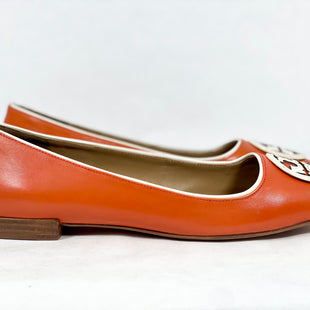 Primary Photo - BRAND: TORY BURCH STYLE: SHOES DESIGNER COLOR: ORANGE SIZE: 10.5 SKU: 213-213149-3635